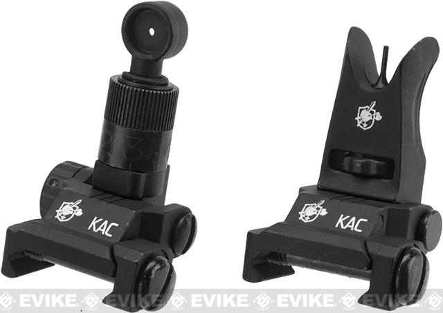 Knights Armament KAA Micro Back-up Iron Sights (Color: Black)