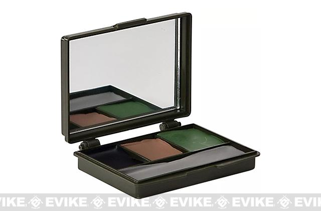 Allen Company Four Color Camo Face Paint Compact