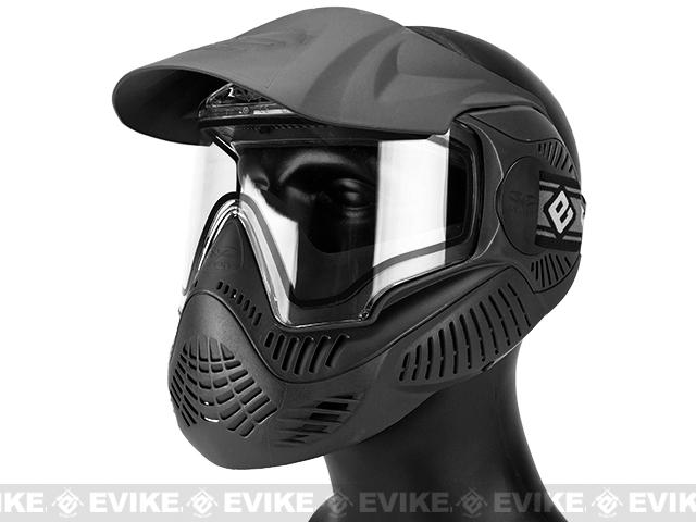Annex MI-7 ANSI Rated Full Face Mask with Thermal Lens by Valken (Color: Black)