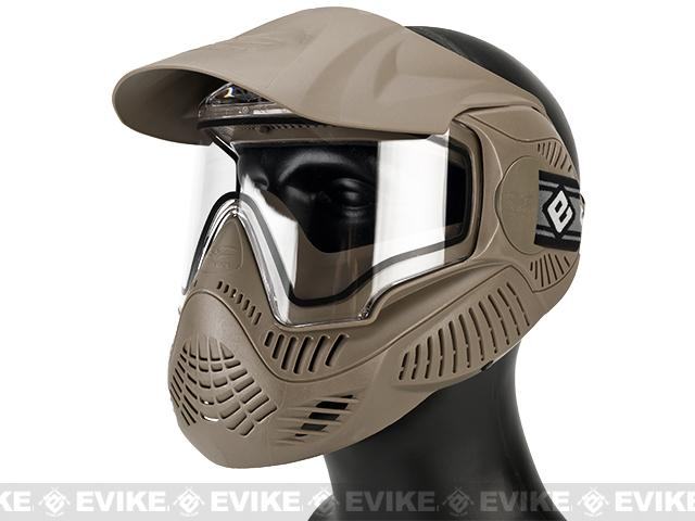 Pre-Order ETA March 2018 Annex MI-7 ANSI Rated Full Face Mask with Thermal Lens by Valken (Color: Tan)