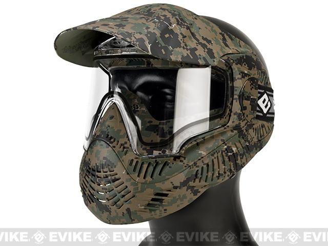 Annex MI-7 ANSI Rated Full Face Mask with Thermal Lens by Valken (Color: MARPAT)