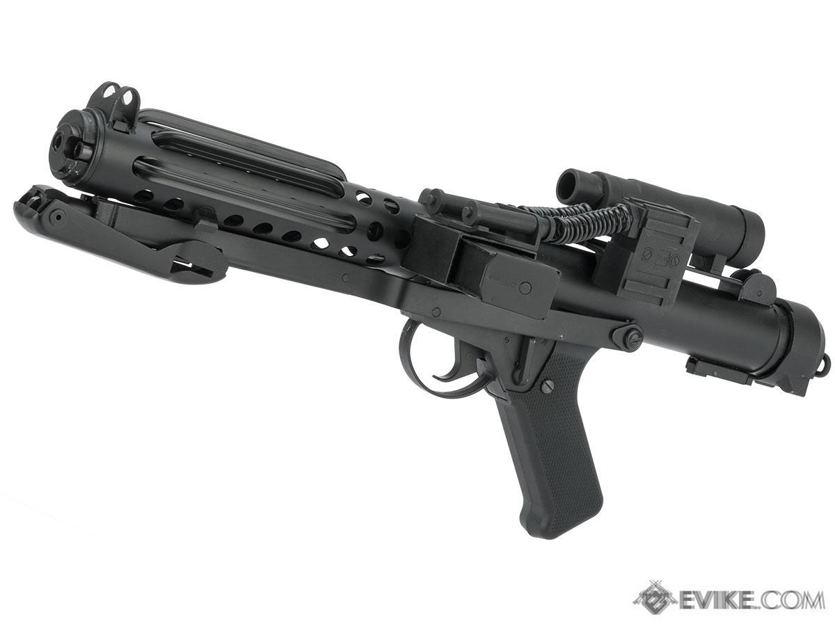 Pre-Order ETA September 2020 S&T Full Metal Custom Sterling Airsoft AEG SMG with Heat Sink and Scope