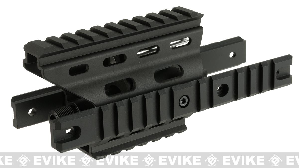 Nitro.Vo MP7A1 Full Metal RIS Extension Frame for Tokyo Marui MP7A1