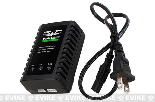 Valken Airsoft Compact 2-3 Cell Lipo/LiFe/LiIon Balancing Charger
