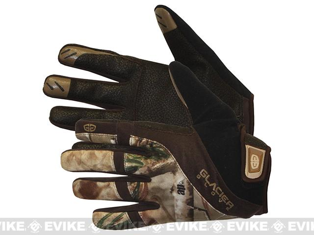 Glacier Gloves RealTree AP Lightweight Field Glove (Size: Small)