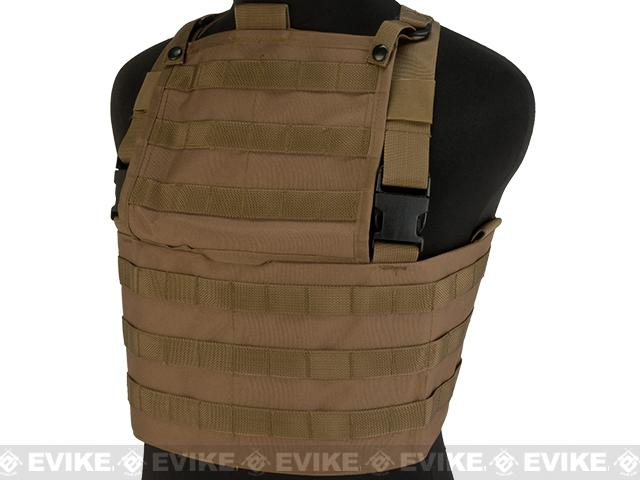 Tru-Spec Ranger Rack MOLLE Vest - Coyote Brown