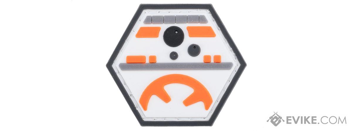 Operator Profile PVC Hex Patch Pop Culture Series (Style: Rolling Droid)