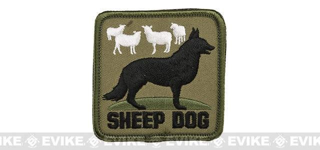 Rothco Sheep Dog Hook and Loop Patch