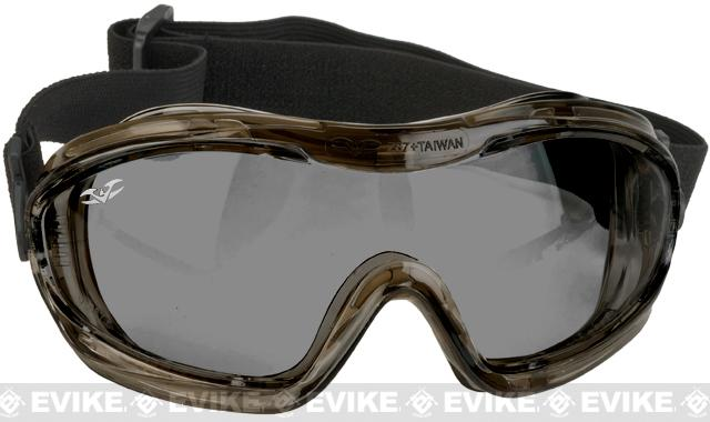 Alpha Tactical V-Tac Goggles by Valken - Smoked