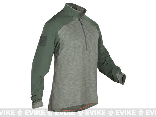 5.11 Tactical Rapid Response Quarter Zip Shirt - TDU Green (Size: Medium)