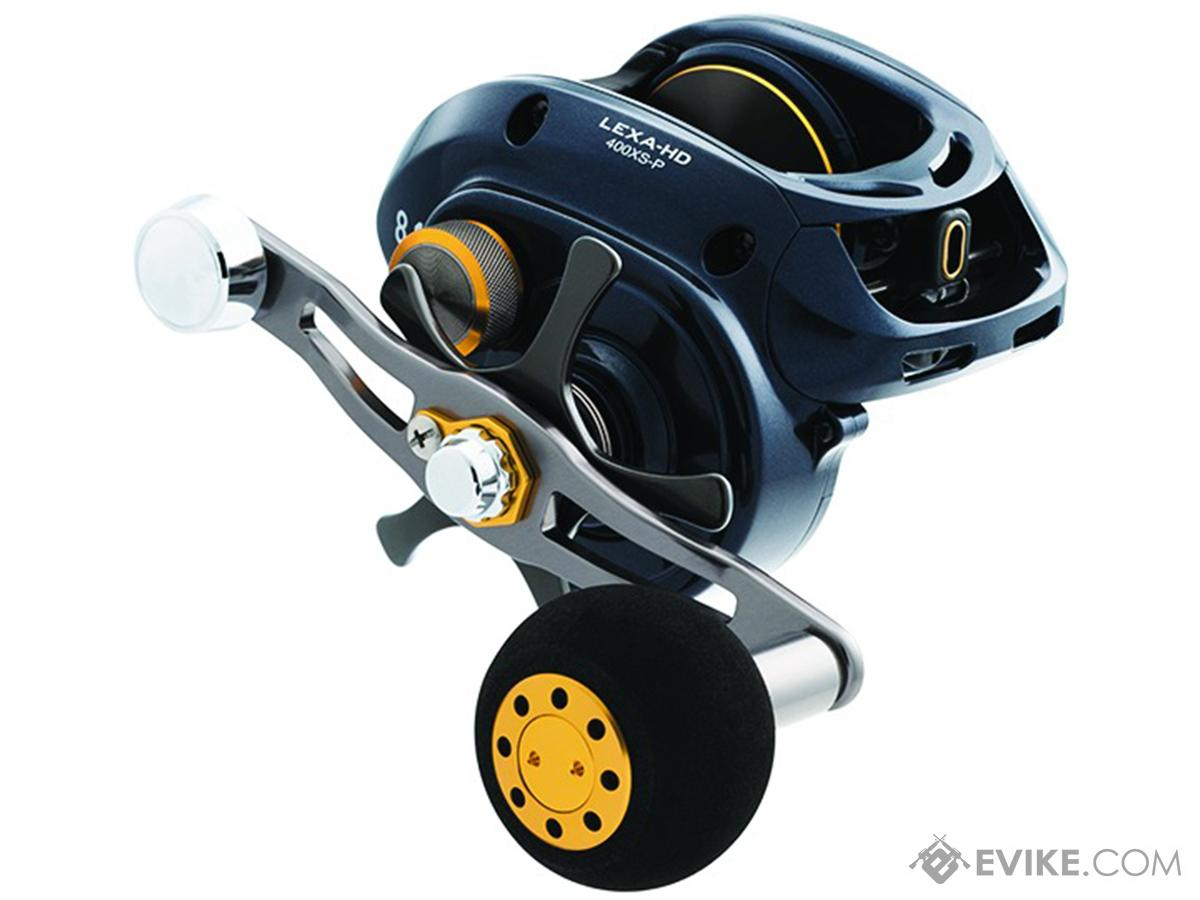 Daiwa Lexa Type HD Baitcast reel 6CRBB (Model: 400XSL-P)