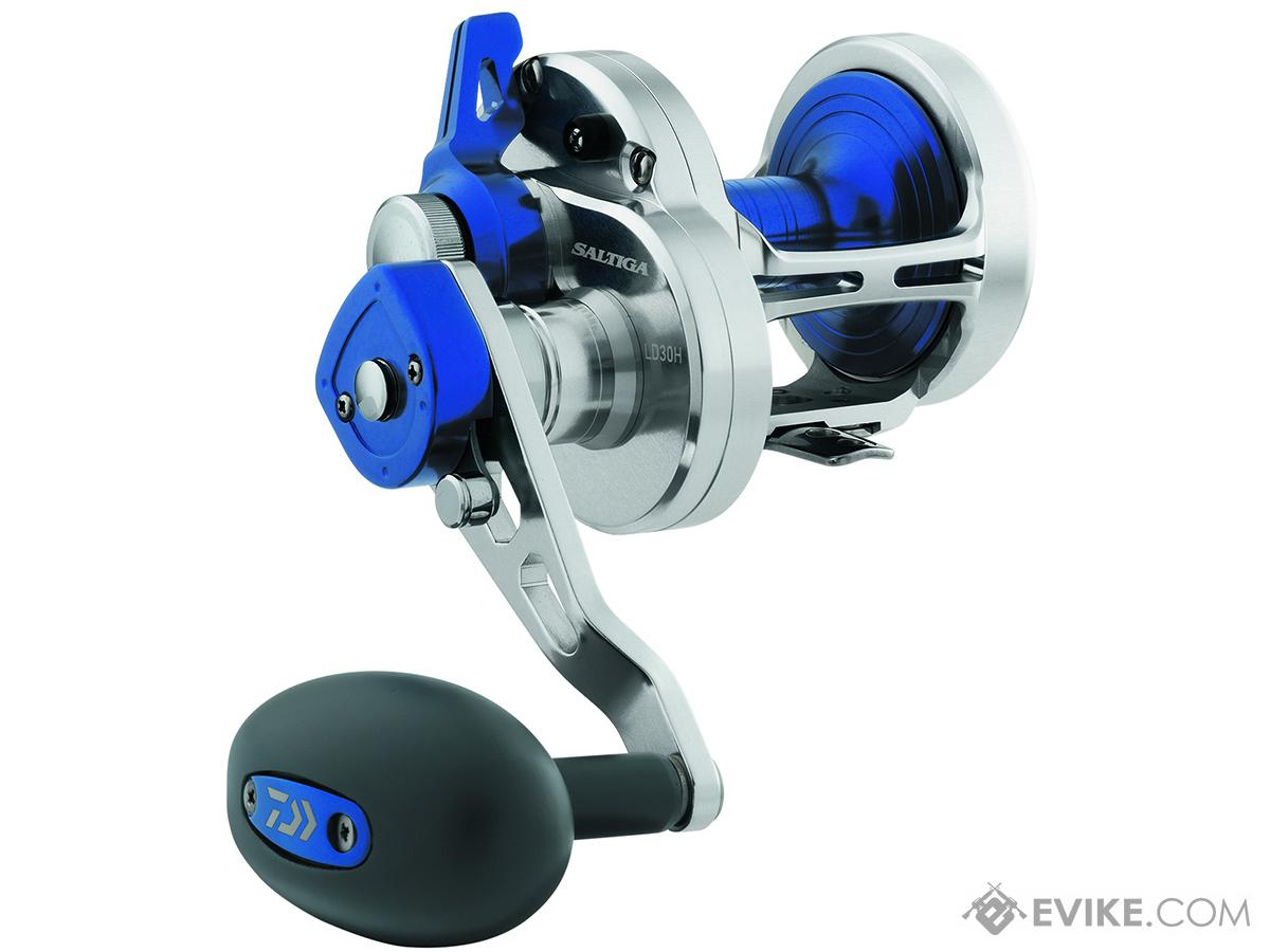 Daiwa Saltiga 2-Speed Lever Drag Conventional Reel (Model: SALD40-2SPD)
