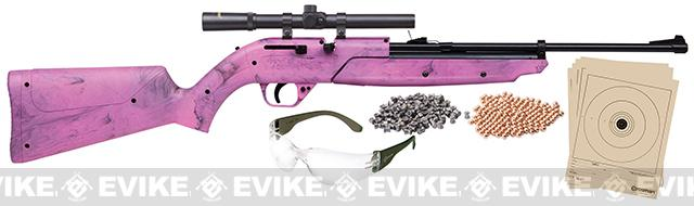 Crosman Airguns 760 Pumpmaster Starter Kit ( 177 AIRGUN NOT AIRSOFT) - Pink
