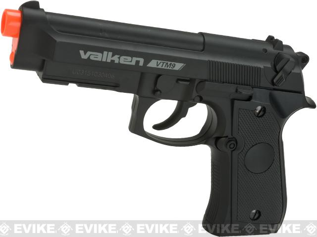Valken V Tactical M9 CO2 Powered Non-Blowback Airsoft Pistol