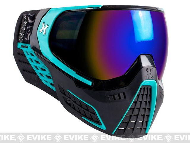 z HK Army KLR Full Seal Airsoft/Paintball Mask (Color: Abyss Black / Teal)