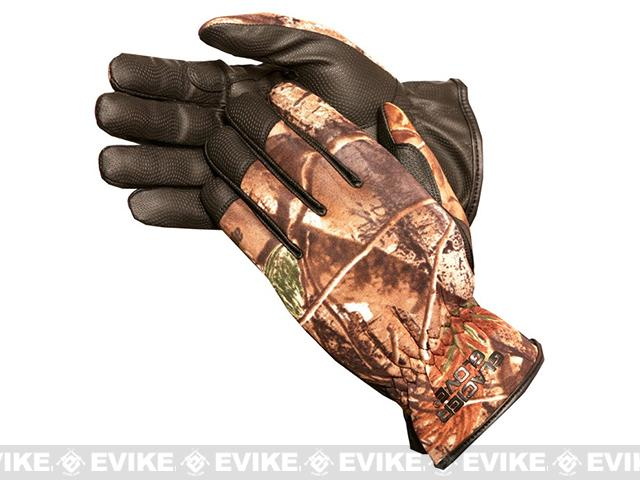 Glacier Gloves 782RT Lightweight Pro-Hunter Gloves - Realtree (Size: Medium)