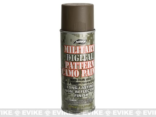 Aervoe Military Camo Spray Paint Coyote 12oz Ground Shipping