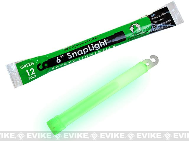 Cyalume 6 SnapLight LightStick - Green