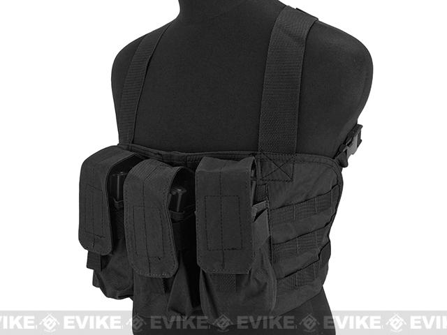 Gryffon Tactical Golem Chest Rig (Color: Black)