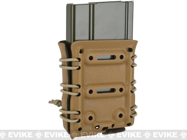 G-Code Scorpion Adjustable 7.62 Mag Carrier w/ RTI Hanger - Coyote Tan