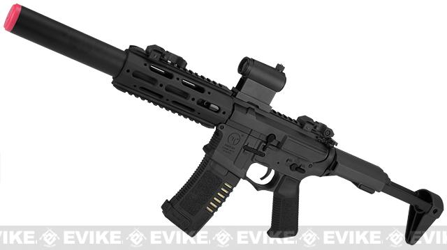 ARES Amoeba MR/E-SD Airsoft AEG (Color: Black)