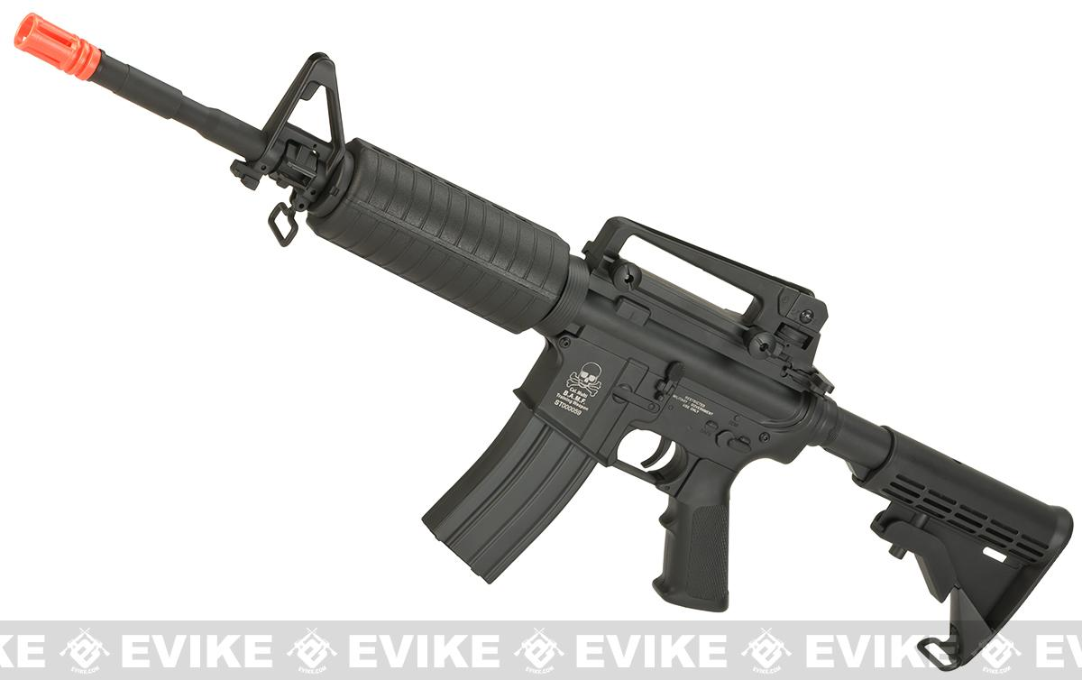 A&K Full Metal M4A1 Carbine Airsoft AEG Rifle w/ Lipo ready Metal Gearbox (B.A.M.F. Special Edition)