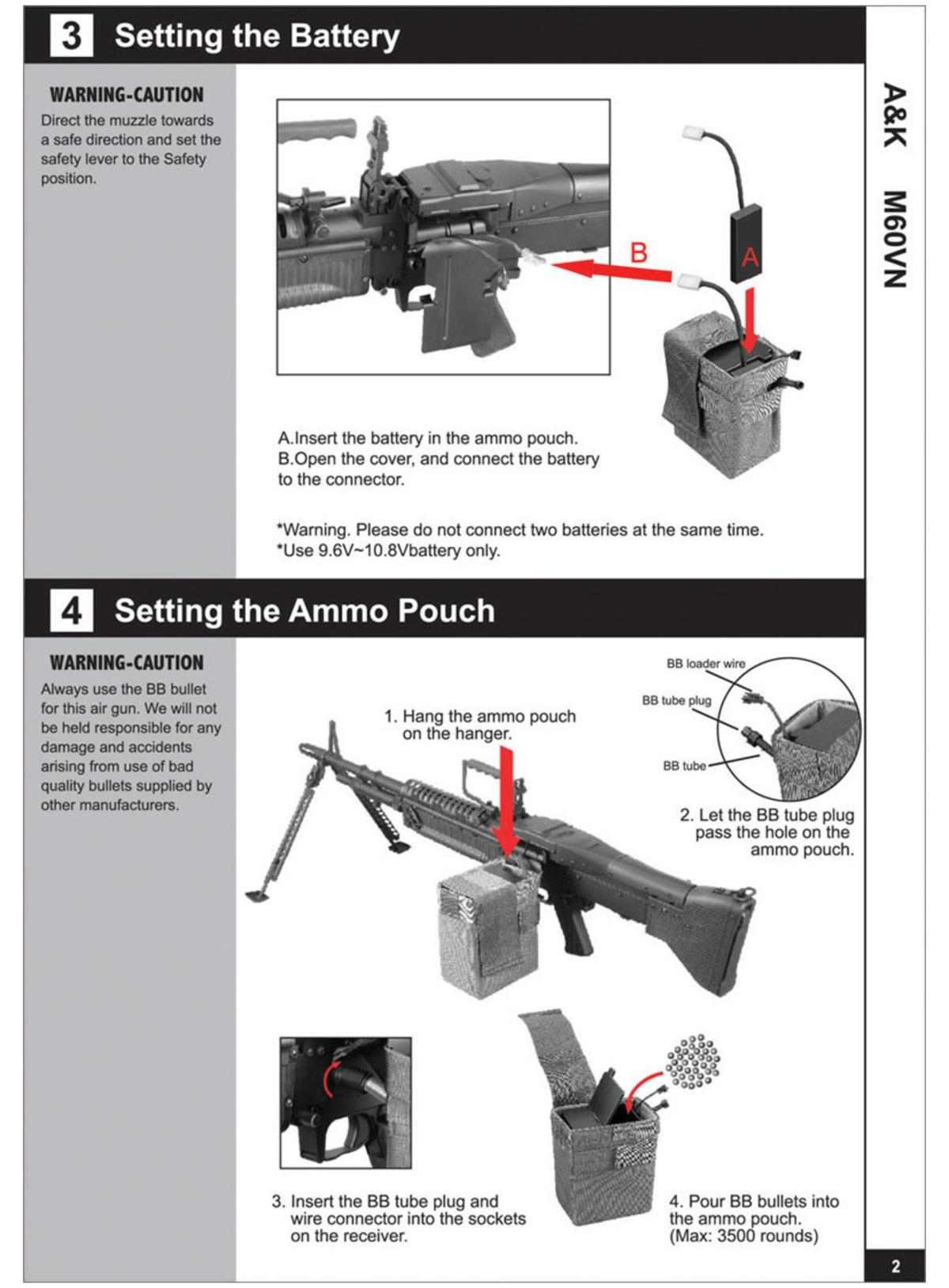 Ak M249 Wiring Diagram Free Download Pouch Manual For M60 Vn Airsoft Aeg Instruction User Machine Gun Parts