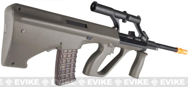 ASG Licensed Steyr AUG A1 Airsoft AEG Rifle w/ Military Style Scope