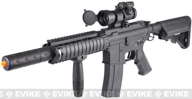 Bone Yard - Dboy Full Metal M4 Airsoft AEG w/ Jungle Series CQB-SD Kit (Store Display, Non-Working Or Refurbished Models)