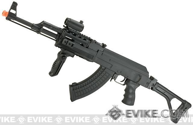 Bone Yard - CM028U Full Size Airsoft AK47 RIS AEG w/ Side Fold stock & Metal Gearbox (Store Display, Non-Working Or Refurbished Models)