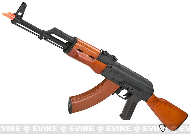 CYMA Full Metal CM036A AKM Airsoft AEG Rifle - Real Wood (Package: Add Battery + Charger)
