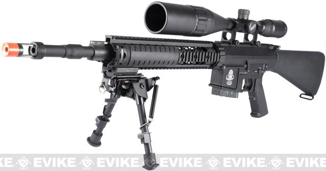 Pre-Order ETA June 2018 G&G Top Tech GR25 SPR Full Size Full Metal Airsoft AEG Sniper Rifle - (Package: Rifle)