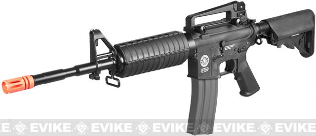 Evike.com Special Edition G&G Crane Stock CM16 Carbine Airsoft AEG Rifle (Package: Black / Add 9.6 Butterfly Battery + Smart Charger)