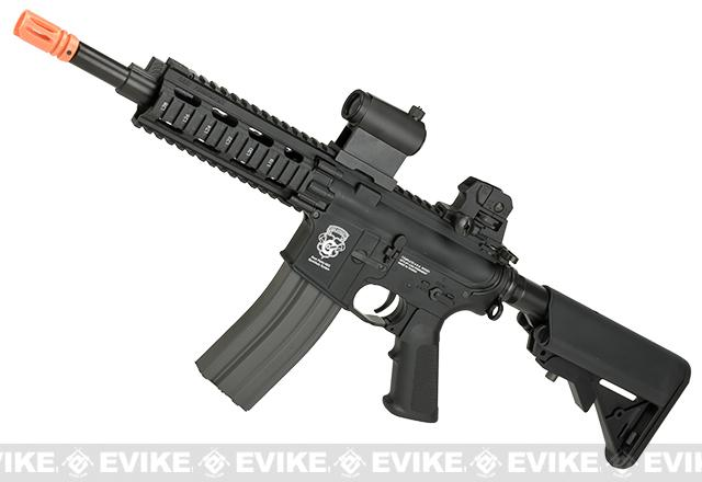 Pre-Order ETA June 2018 G&G GR16 CQW RUSH Airsoft Blowback AEG Rifle (Package: Black / Gun Only)