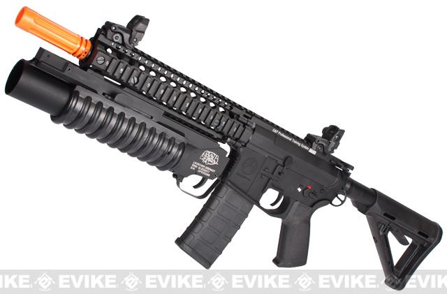 G&P Autobot M4 Airsoft AEG Rifle w/ Grenade Launcher - Black (Package: Gun Only)
