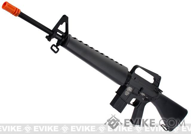 Pre-Order ETA November 2017 G&P M16-A1 Vietnam Collection Airsoft AEG Rifle (Package: Add Battery + Charger)