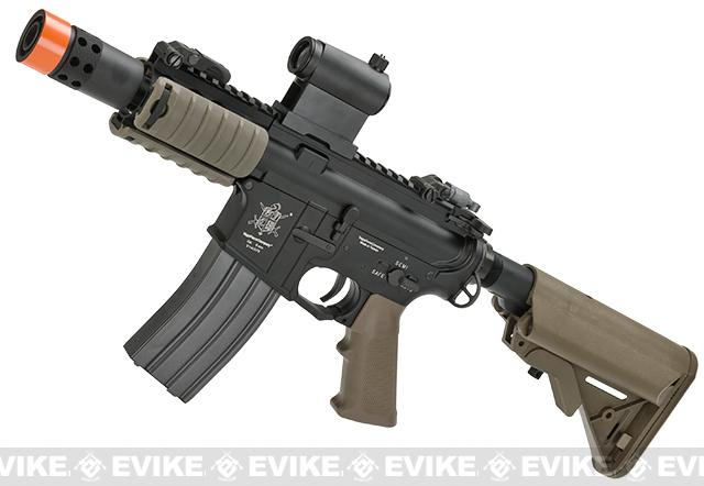 Pre-Order ETA July 2016 VFC M4 E-line Full Metal M4 Dagger Custom Airsoft AEG - Tan