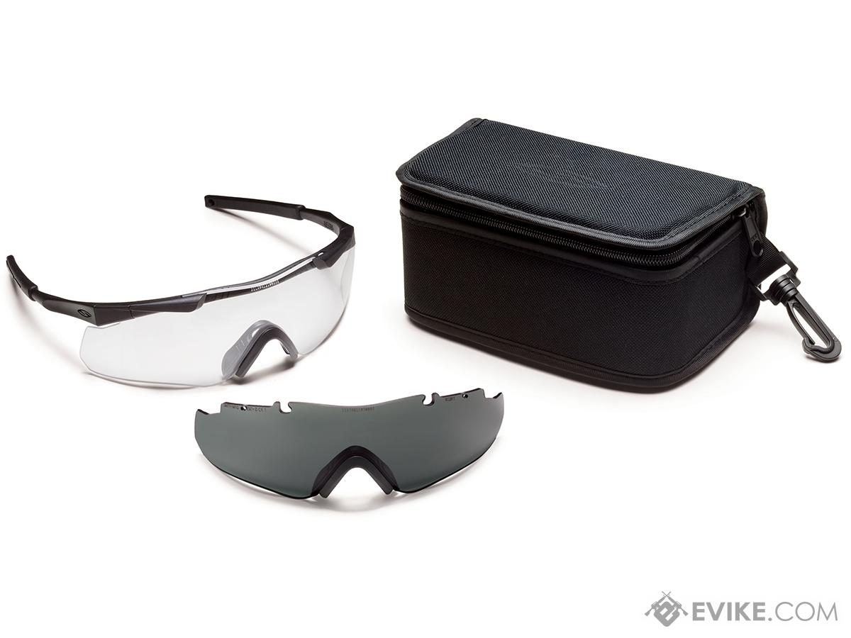 Smith Optics Aegis ARC ANSI Rated Goggles (Color: Black / Clear & Smoke)