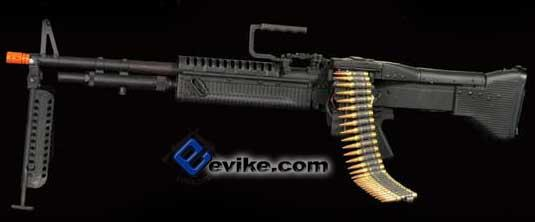 Bone Yard - A&K M60 VN Full Metal Full Size Airsoft AEG Machine Gun (Store Display, Non-Working Or Refurbished Models)