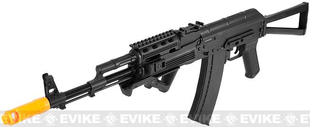 APS Full Metal AK74 Tactical RIS Electric Blowback Airsoft AEG Rifle w/ Folding Stock