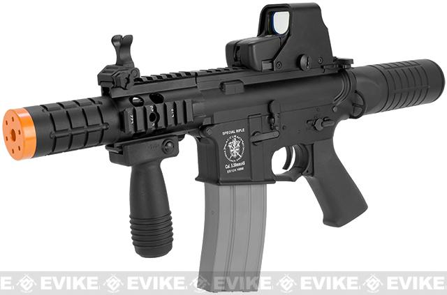 Bone Yard - APS Full Metal Mini Patriot M4 Electric Blowback Airsoft AEG Rifle (Store Display, Non-Working Or Refurbished Models)