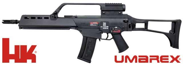 Umarex Licensed H&K G36K Carbine Airsoft AEG Rifle Manufactured by Ares