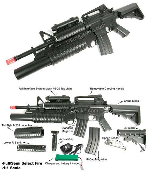 M4 Airsoft Parts Gallery