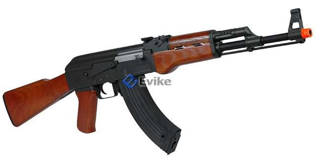 Bone Yard - CM042 / CM046 / RK10 Full Metal AK47 Full Size Airsoft AEG Rifle (Store Display, Non-Working Or Refurbished Models)