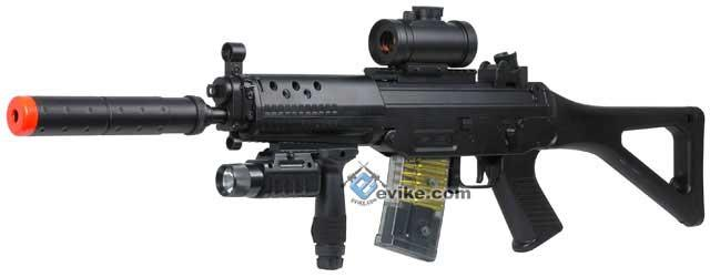 Bone Yard - DE M82 Entry Level Full Size 552 Airsoft LPAEG Electric Rifle (Store Display, Non-Working Or Refurbished Models)