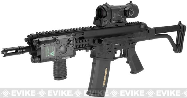 Echo1 Robinson Armament Licensed XCR Airsoft AEG Rifle (Color: Black)