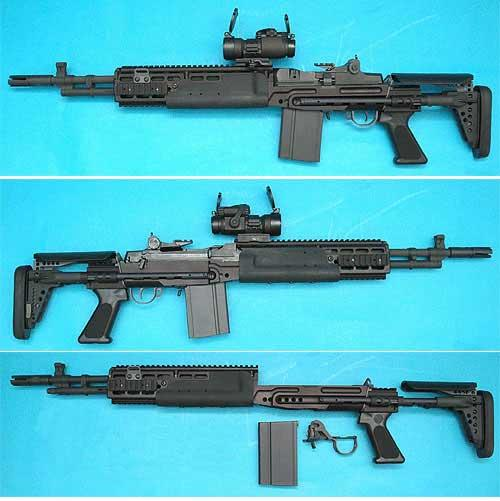 Bone Yard - CYMA M14 EBR Full Metal Airsoft AEG Rifle (Black or Silver) / Metal Gearbox (Store Display, Non-Working Or Refurbished Models)