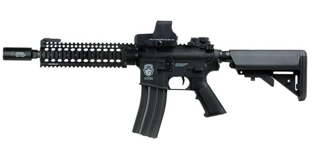 z G&G Limited Edition Blowback Baconator M4 Commando Combat Machine Airsoft AEG (Black)