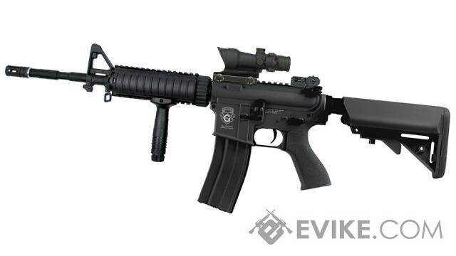 G&G Limited Edition M4 Full Length Carbine FF RAS Combat Machine Airsoft AEG - Black (Package: Gun Only)
