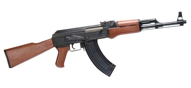 Pre-Order ETA January 2018 G&G Combat Machine Full Size AK47 RK47 Airsoft AEG Rifle w/ Imitation Wood - (Package: Gun Only)